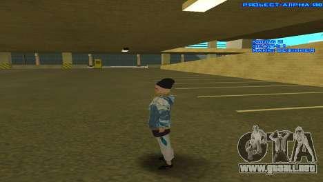Vagos Girl para GTA San Andreas