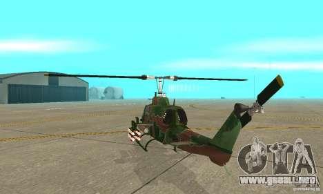 AH-1 super cobra para la visión correcta GTA San Andreas