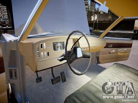 Dodge Dart 1975 para GTA 4 vista hacia atrás