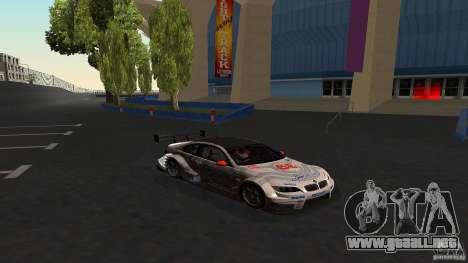 BMW E92 M3 para vista lateral GTA San Andreas