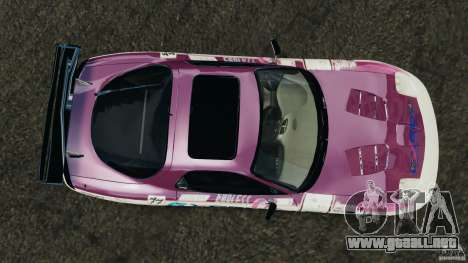 Mazda RX-7 EXEDY D1 para GTA 4 visión correcta