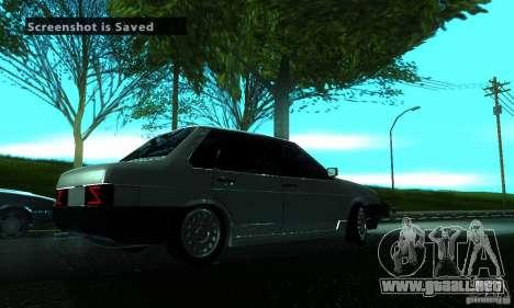 VAZ 21099 PROTOCOLO para la visión correcta GTA San Andreas