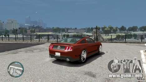 Ford Mustang Boss 302 2012 para GTA 4 visión correcta