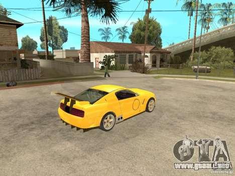 Ford Mustang GT-R para la visión correcta GTA San Andreas