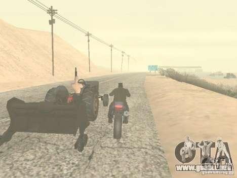 Vehículos con remolques para GTA San Andreas sexta pantalla