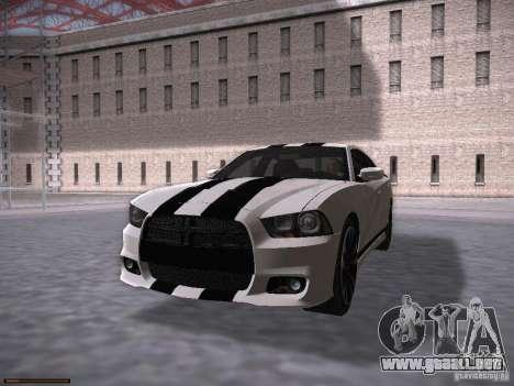 Dodge Charger SRT8 2012 para la visión correcta GTA San Andreas
