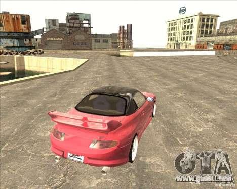Mitsubishi FTO VeilSide para la visión correcta GTA San Andreas