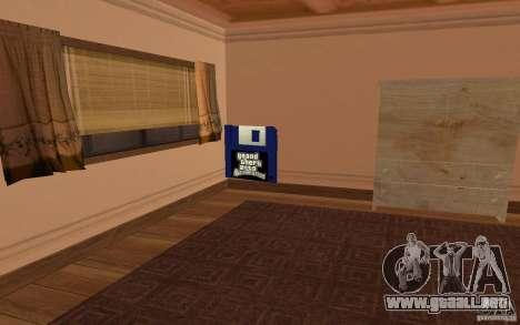 Una Villa para GTA San Andreas séptima pantalla