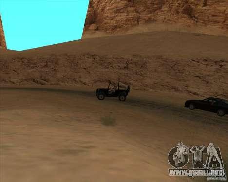 Vaquero duelo v2.0 para GTA San Andreas segunda pantalla