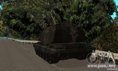 2S19 MSTA-s, versión estándar para la visión correcta GTA San Andreas
