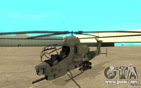 Cobra para GTA San Andreas left