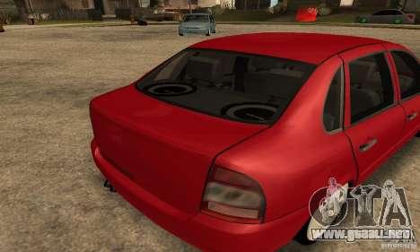 Lada 1118 Kalina para la visión correcta GTA San Andreas