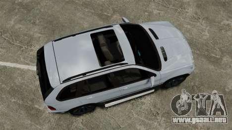 BMW X5 4.8IS BAKU para GTA 4 visión correcta