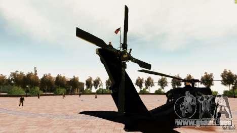 MH-60K Black Hawk para GTA 4 Vista posterior izquierda