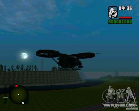 SA-2 Samson para GTA San Andreas left