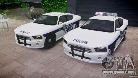 FIB Buffalo NYPD Police para GTA 4 vista desde abajo