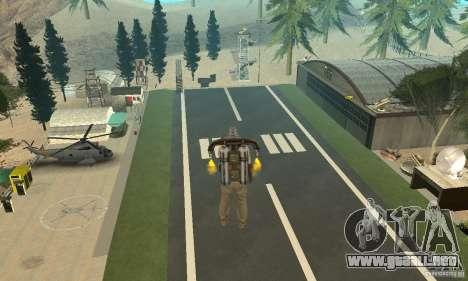 New CJs Airport para GTA San Andreas segunda pantalla