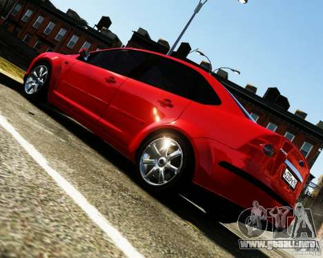 Ford Focus 2008 para GTA 4 left