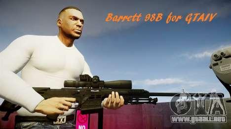 Barrett 98B (francotirador) para GTA 4