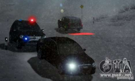 SGU y ELM para GTA San Andreas sucesivamente de pantalla