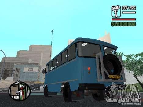 Chernigov SYD-03 para GTA San Andreas vista hacia atrás