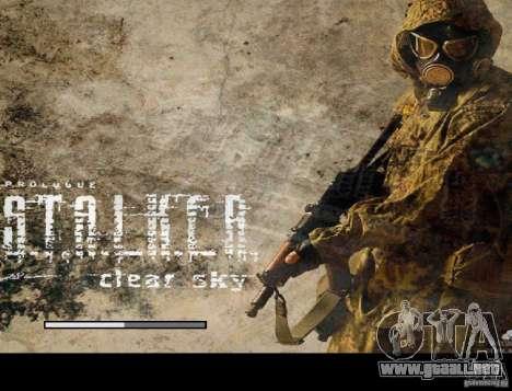 Nueva pantalla de arranque de STALKER para GTA San Andreas quinta pantalla