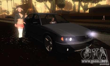 GTA IV Merit para GTA San Andreas vista hacia atrás
