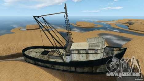 Desierto de Gobi para GTA 4 quinta pantalla