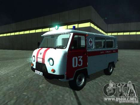 3962 UAZ ambulancia para GTA San Andreas left