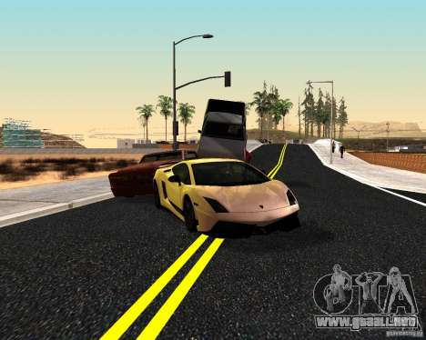 ENBSeries by Nikoo Bel v3.0 Final para GTA San Andreas sucesivamente de pantalla