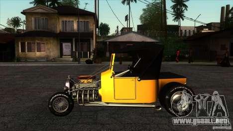 Ford T 1927 Hot Rod para GTA San Andreas left
