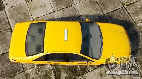 Chevrolet Caprice 1991 LCC Taxi para GTA 4 visión correcta