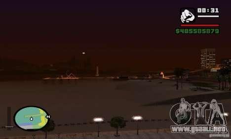 0,075 ENBSeries (agua) para GTA San Andreas sexta pantalla