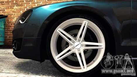 Audi A8 2010 para GTA 4 left