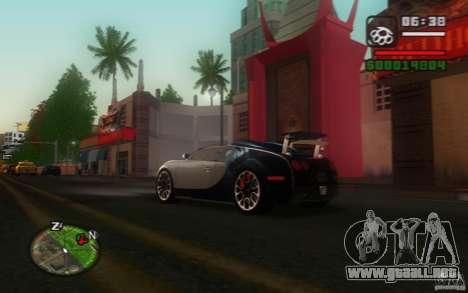 Bugatti Veyron 16.4 Grand Sport Sang Bleu para la visión correcta GTA San Andreas