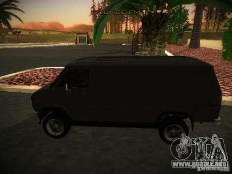 GMC Vandura para GTA San Andreas left