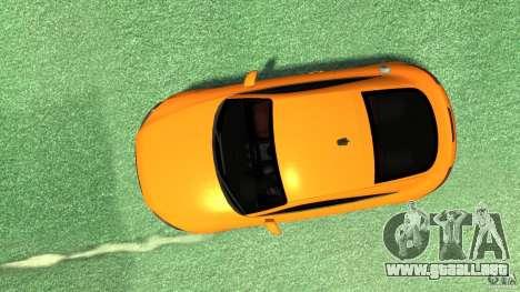 Audi TT Stock 2007 para GTA 4 visión correcta