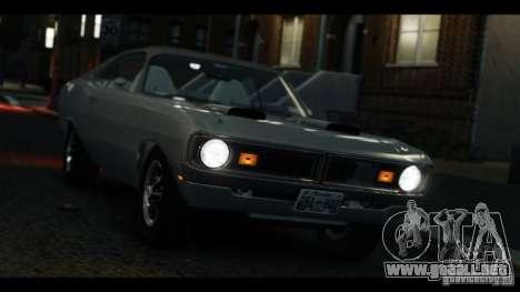 Dodge Demon 1971 para GTA 4 visión correcta