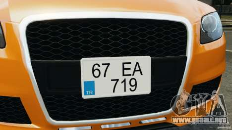 Audi RS4 EmreAKIN Edition para GTA motor 4