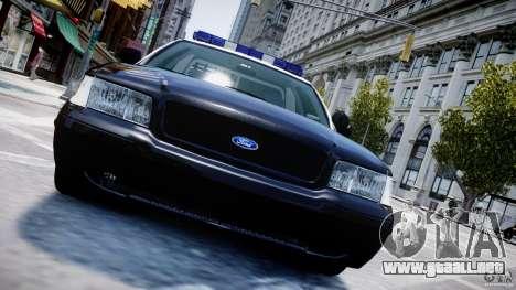 Ford Crown Victoria Massachusetts Police [ELS] para GTA motor 4