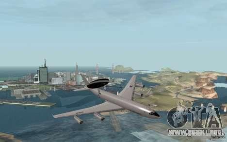 Boeing E-3 Sentry para la visión correcta GTA San Andreas