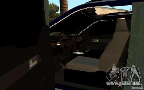 Ford Velociraptor para GTA San Andreas vista posterior izquierda
