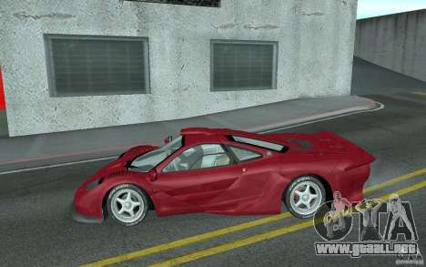 Mclaren F1 GT (v1.0.0) para GTA San Andreas left