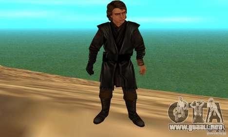 Anakin Skywalker para GTA San Andreas tercera pantalla