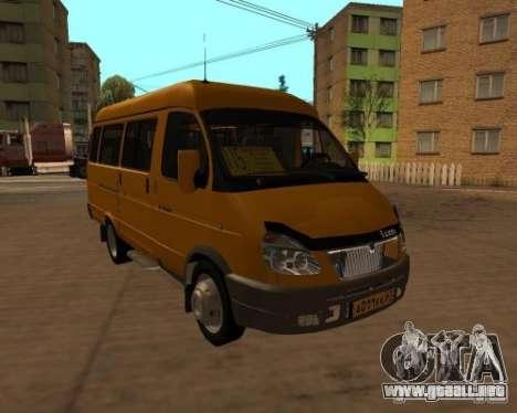 Taxi gacela 2705 para GTA San Andreas