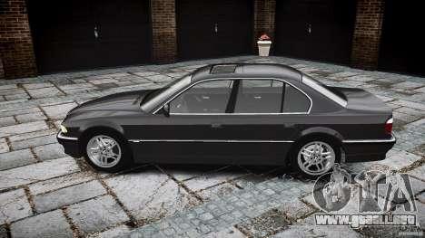 BMW 740i (E38) style 37 para GTA 4 vista interior
