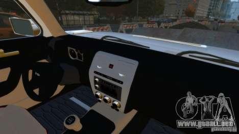 Hummer H3 2005 Gold Final para GTA 4 visión correcta