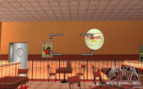 Pumper Nic Mod para GTA San Andreas sexta pantalla