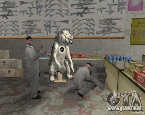 Una bulliciosa tienda Ammu-Nation v3 (Final) para GTA San Andreas segunda pantalla