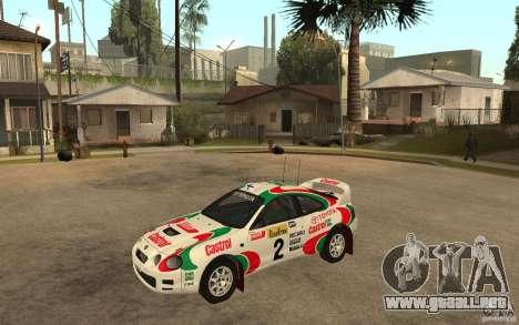 Toyota Celica GT4 DiRT para GTA San Andreas